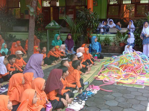 Kunjungan TK Sekitar SD Muhammadiyah Karangkajen