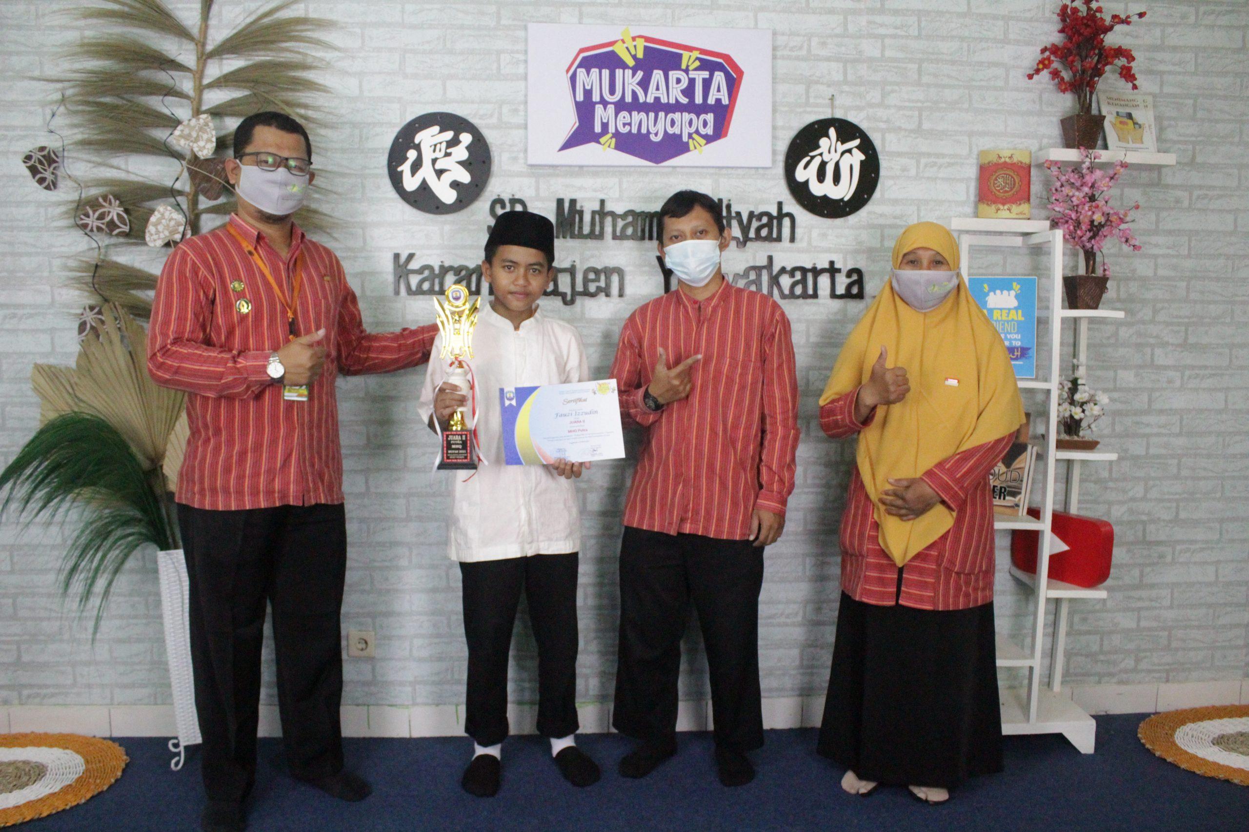 Juara 2 Lomba MHQ SMP Muhammadiyah 7 Yogyakarta